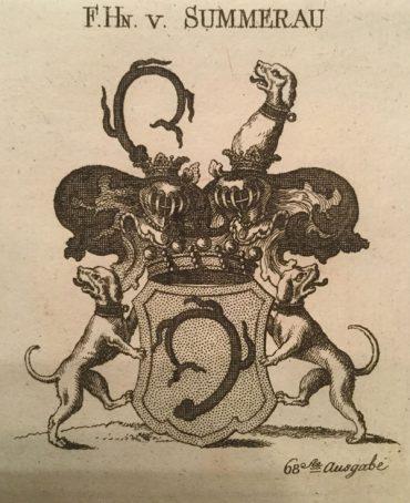 Wappen der Freiherrn von Summerau (Guts- und Forstverwaltung DI Dr. Alfred Schreiberhuber)